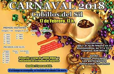 Carnaval 17 febrero de 2018.  Sábado de piñata en Cubillos del Sil