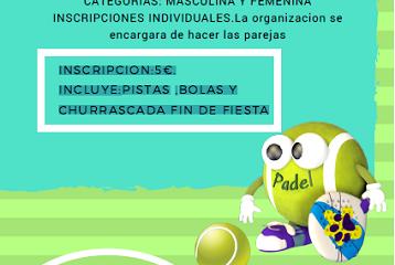"1ª  CONVIVENCIA ""CLUB DE PADEL CUBILLOS DEL SIL"""