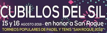 """Torneos populares de padel y tenis """"San Roque 2018"""""""