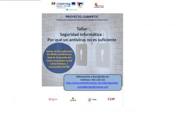 Taller Seguridad informática : Por qué un antivirus no es suficiente
