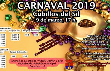 Carnaval 2019 Cubillos del Sil, 9 marzo.